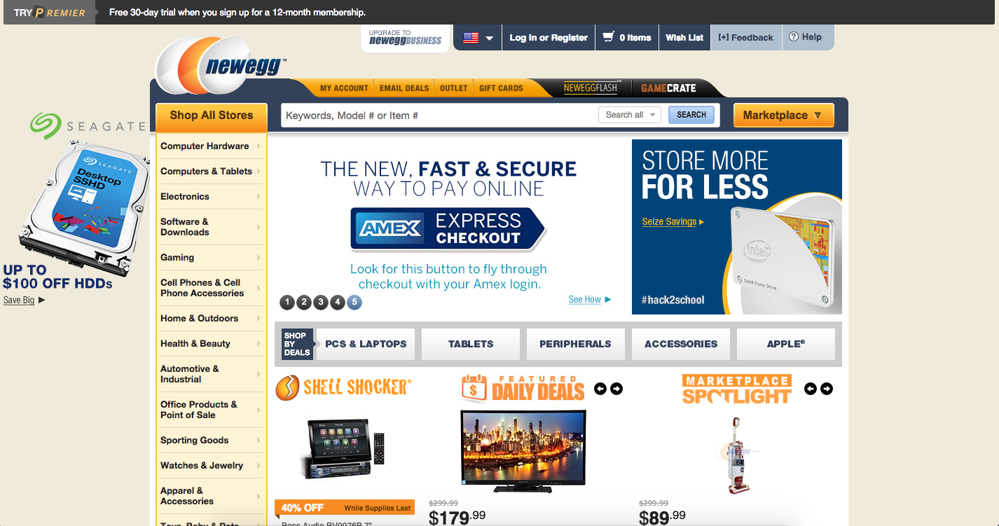 NeweggBusiness offers the best prices on computer parts, laptop computers, digital cameras, electronics and more with fast shipping and top-rated customer service. Once you know, you Newegg! If you see this message, your web browser doesn't support JavaScript or JavaScript is disabled.